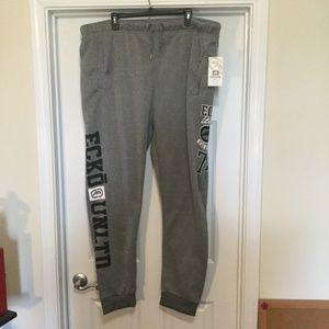 Ecko Unltd Joggers Sweat Pants Gray Size 4XL 3XL